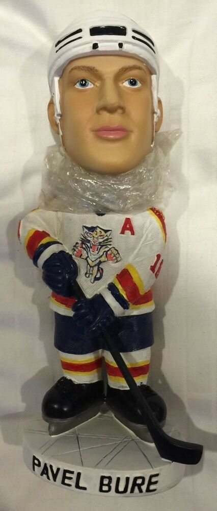 Pavel Bure Signed Autograph Bobblehead Florida Panthers Bobble Head