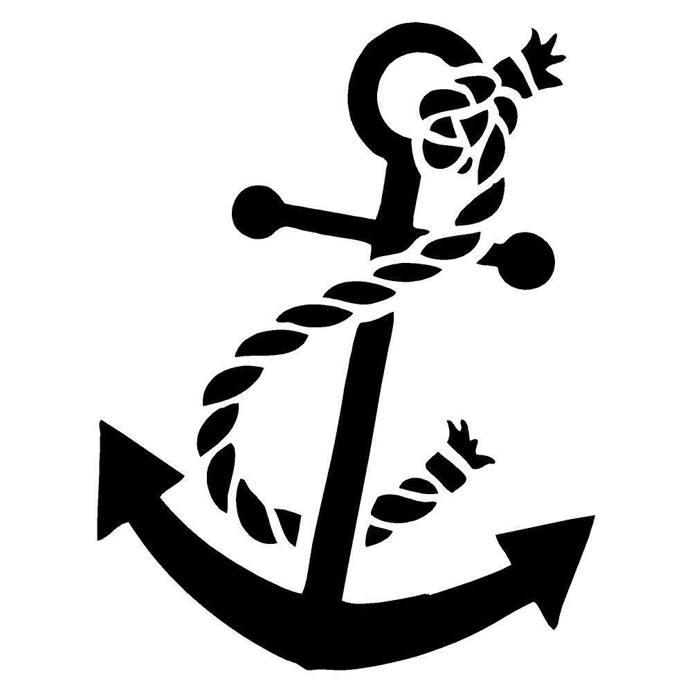 Details about anchor decal sticker window car mirror available in 20 colors