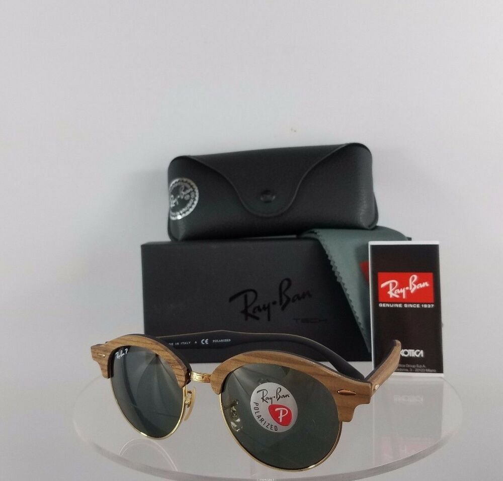 0f2956e610f Details about Brand New Authentic Ray Ban RB4246 1181 58 Sunglasses 4246-M  Round Polarized