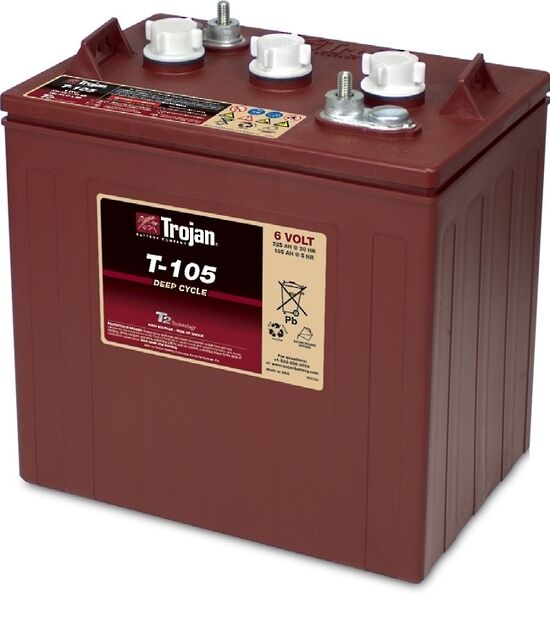 s l1000 trojan 6 volt batteries ebay What Can a Trojan T-105 Battery Replace at bakdesigns.co