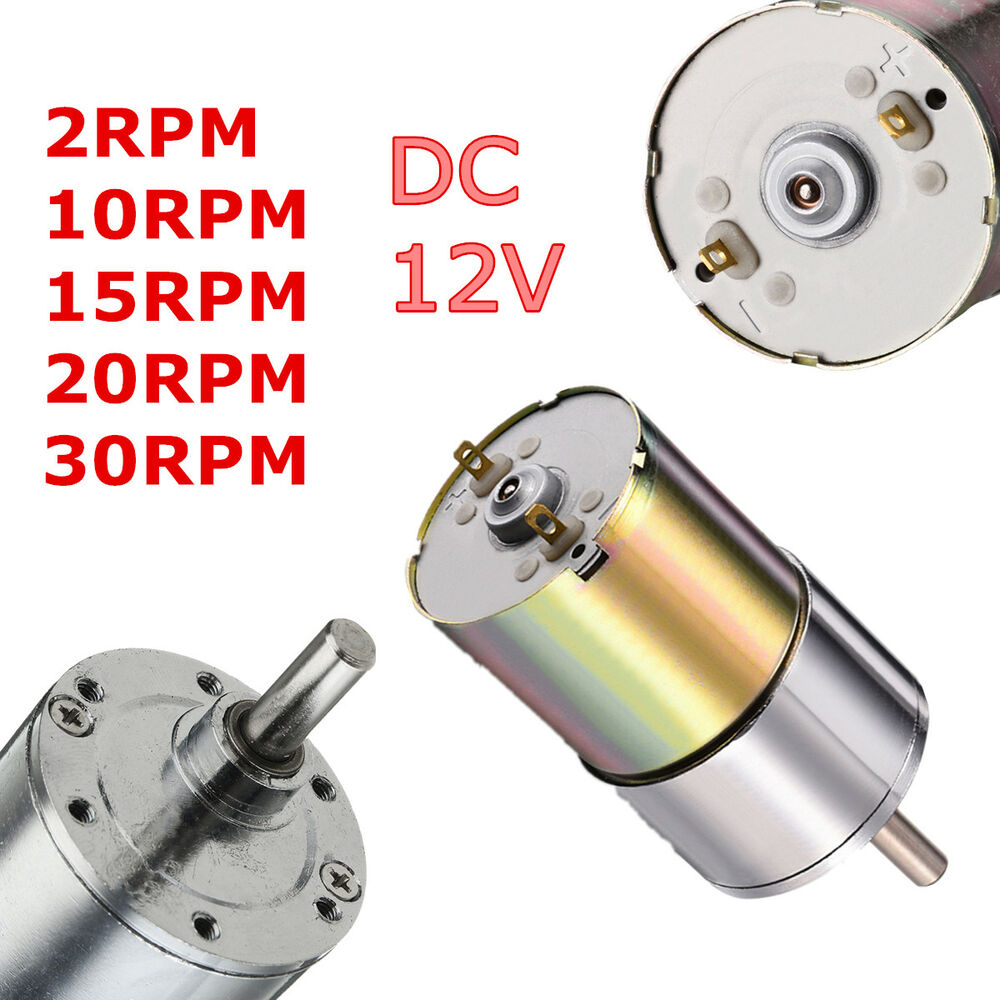 Dc 12v 2 1000rpm high torque electric gear box motor for High torque high speed dc motor