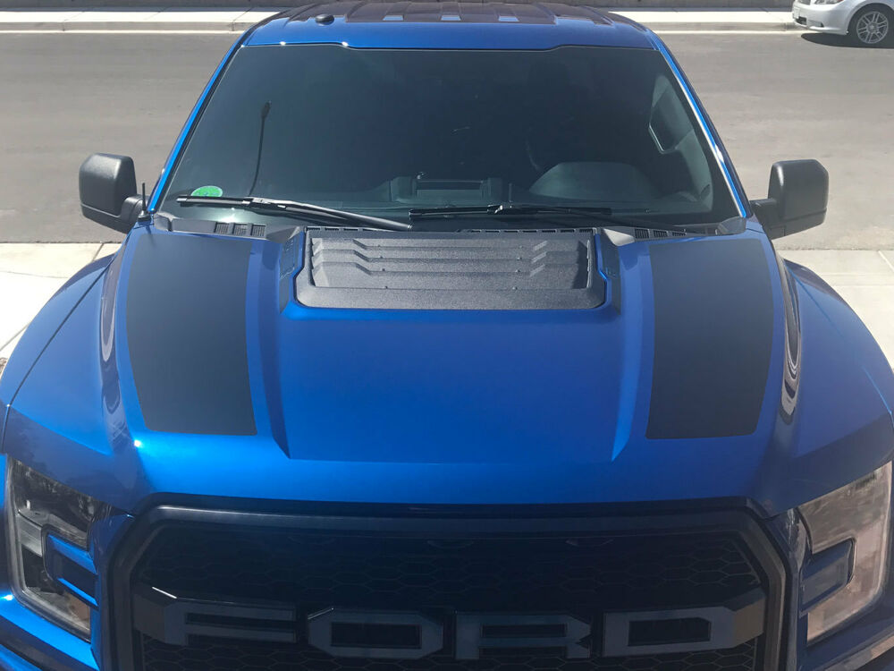 Ford Raptor 0 60 >> NEW 2017 FORD RAPTOR F-150 DUAL HOOD GRAPHICS VINYL ...
