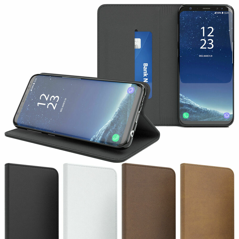 tasche f r samsung galaxy vintage case handy h lle schutz cover book etui wallet ebay. Black Bedroom Furniture Sets. Home Design Ideas