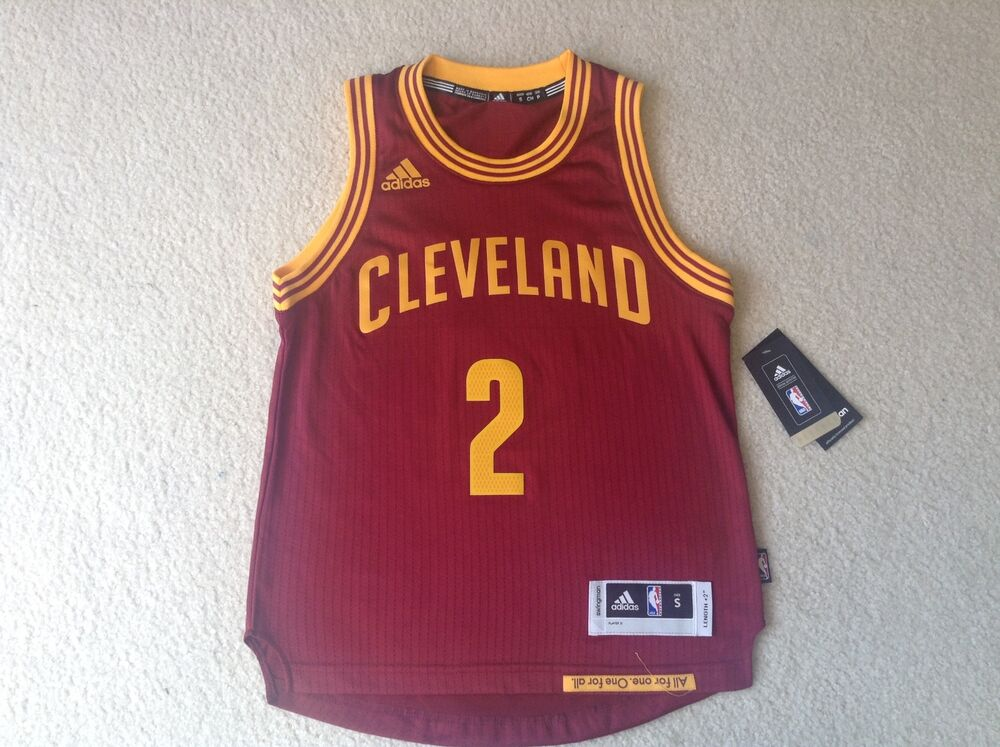 425339f4bae Adidas Kyrie Irving Cleveland Cavaliers Women s Jersey - Burgundy - NBA