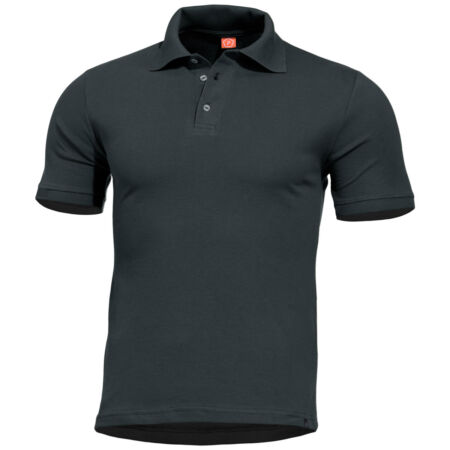 img-Pentagon Sierra Polo Shirt Army Tactical T-shirt Police Security Mens Top Black