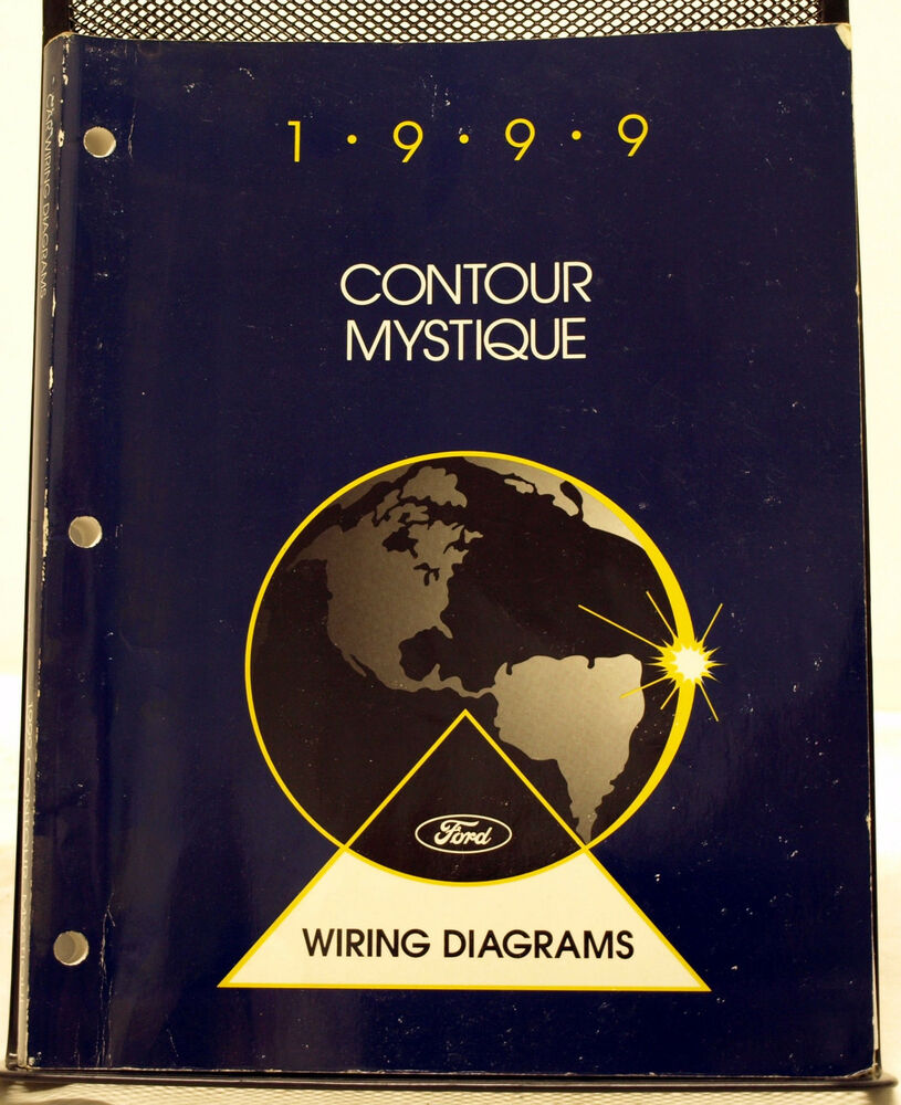 Oem 1999 Ford Contour Mercury Mystique Wiring Diagram Manual  N Ad