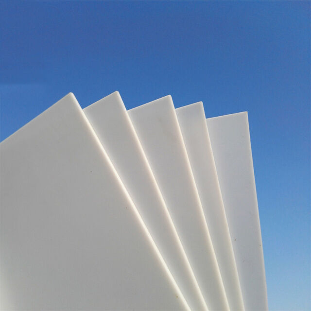 0 5 3mm Thick White Abs Plastic Sheet Panel For Diy Model