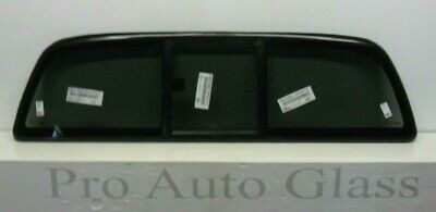 OEE USA Rear Sliding Window Back Glass Privacy Tinted for a 05-14 Toyota Tacoma