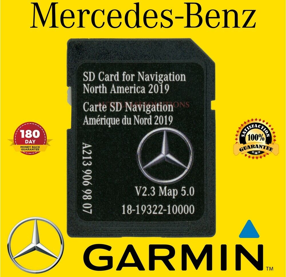 LATEST GPS For 2019 C CLASS Mercedes-Benz SD Card