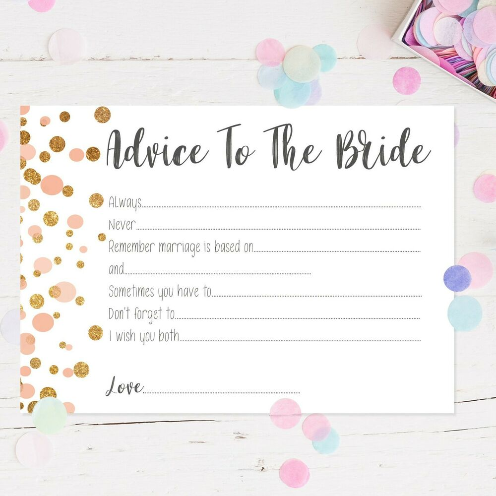 Hen Party Accessories Advice To The Bride Hen Party Games