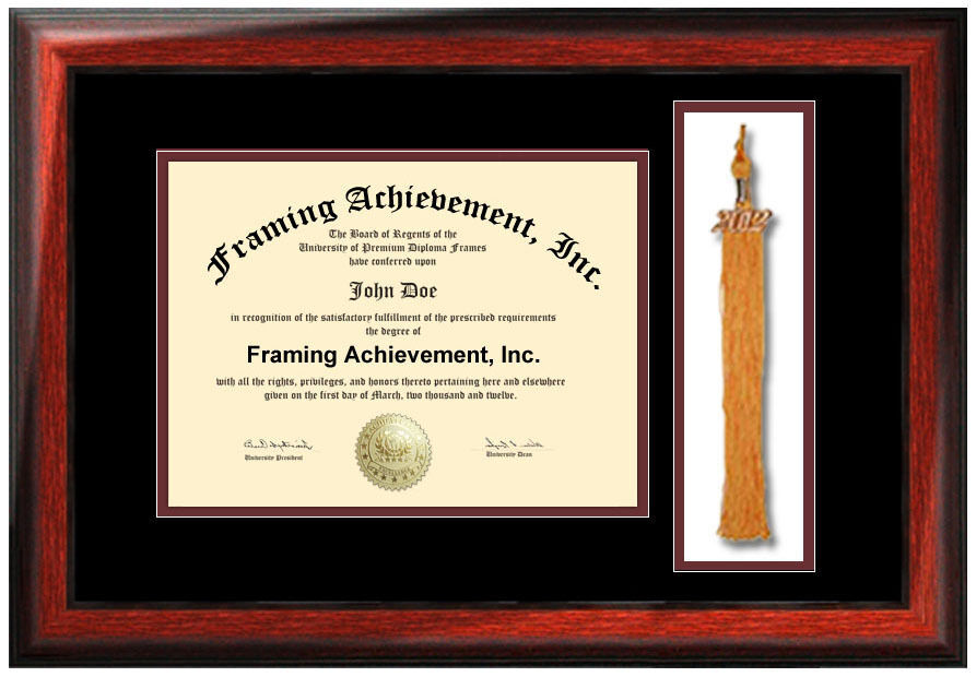 College Graduation Tassel Frame University Degree Holder Certificate ...