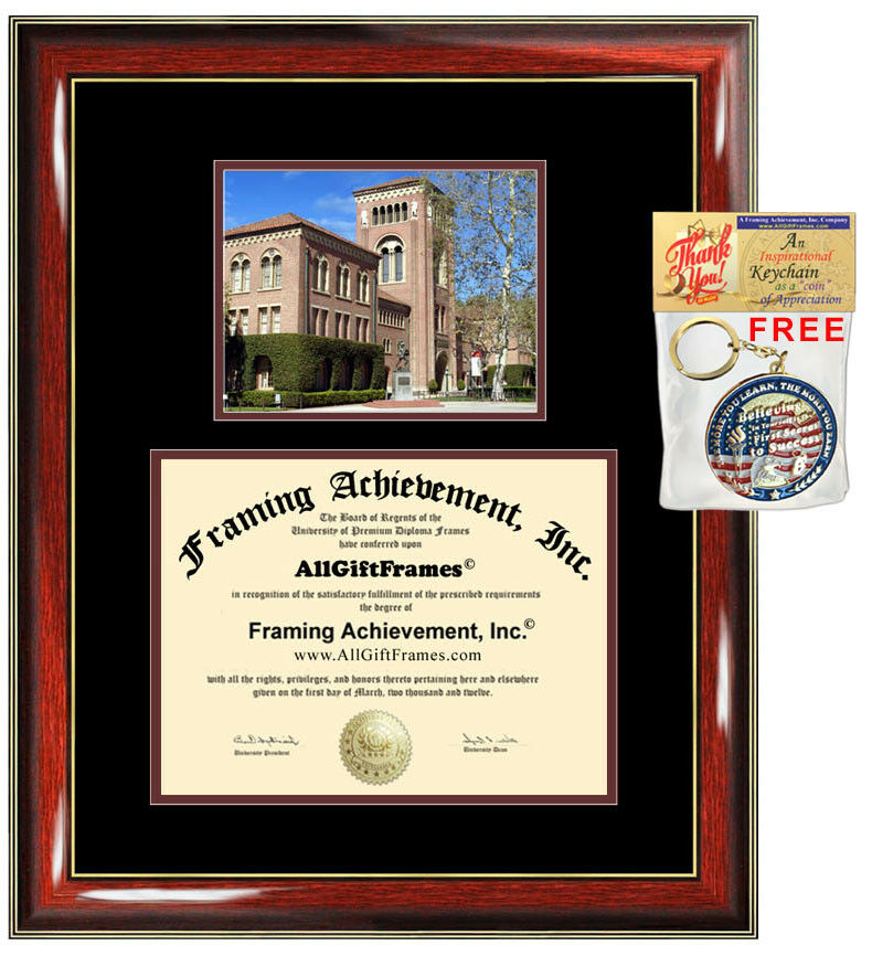 USC Diploma Frames Degree Frame University Southern California ...
