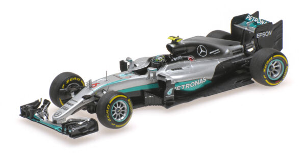 Mercedes Amg W07 Hybrid Nico Rosberg Abu Dhabi Gp World Champion 2016 1:43 Model