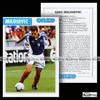 MILOSEVIC SAVO (PARMA FC) - Fiche Football / Calcio 2000