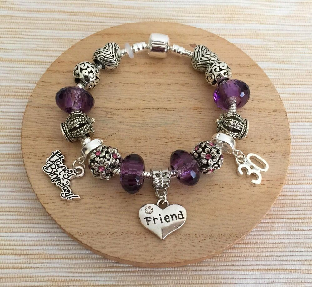 Anniversary Gifts For Her: Personalised BIRTHDAY Gifts Bracelet 15th 16th 18th 21st