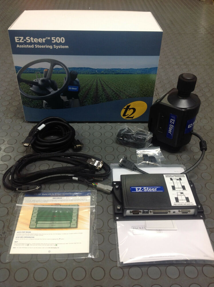 Trimble 66100-00 ez-guide 500 dgps unlocked field gps system #8162.