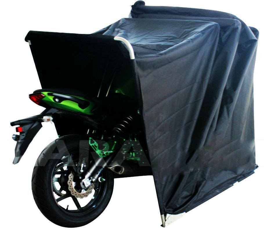 Large waterproof motorcycle cover mobility scooter - Motorcycle foldable garage tent cover ...