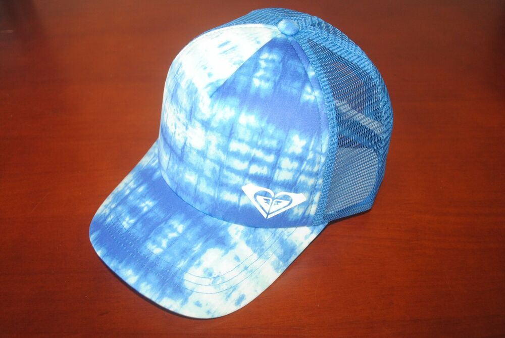 Details about New Roxy Water Come Down Trucker cap Adjustable Women s Mesh  back hat OSFM 65578030858e
