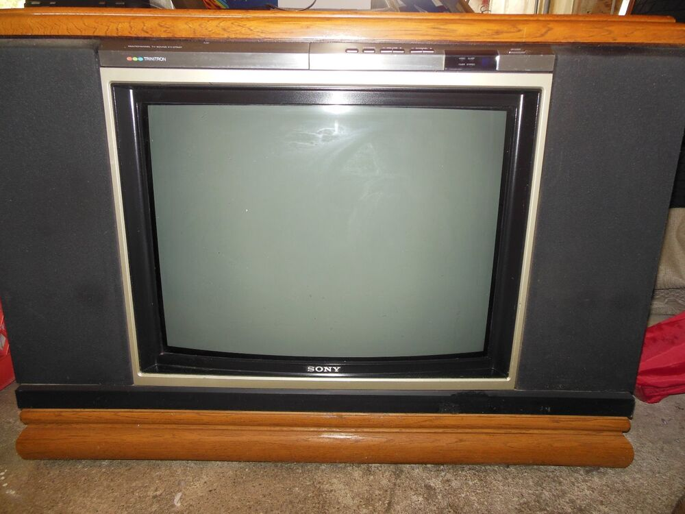 Old Console Tv ~ Vintage sony console tv ebay