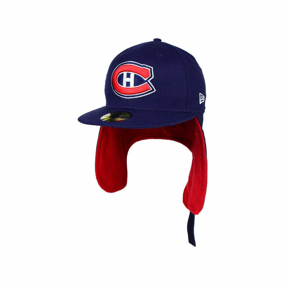 79934df7488 Details about Montreal Canadiens New Era NHL Team Dog Ear 59FIFTY Flat Bill  Brim Cap Hat Lid 7