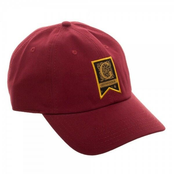 855edbe54cc2a Details about House Gryffindor - Harry Potter Dad Hat Relaxed Adjustable  Traditional Basic Red