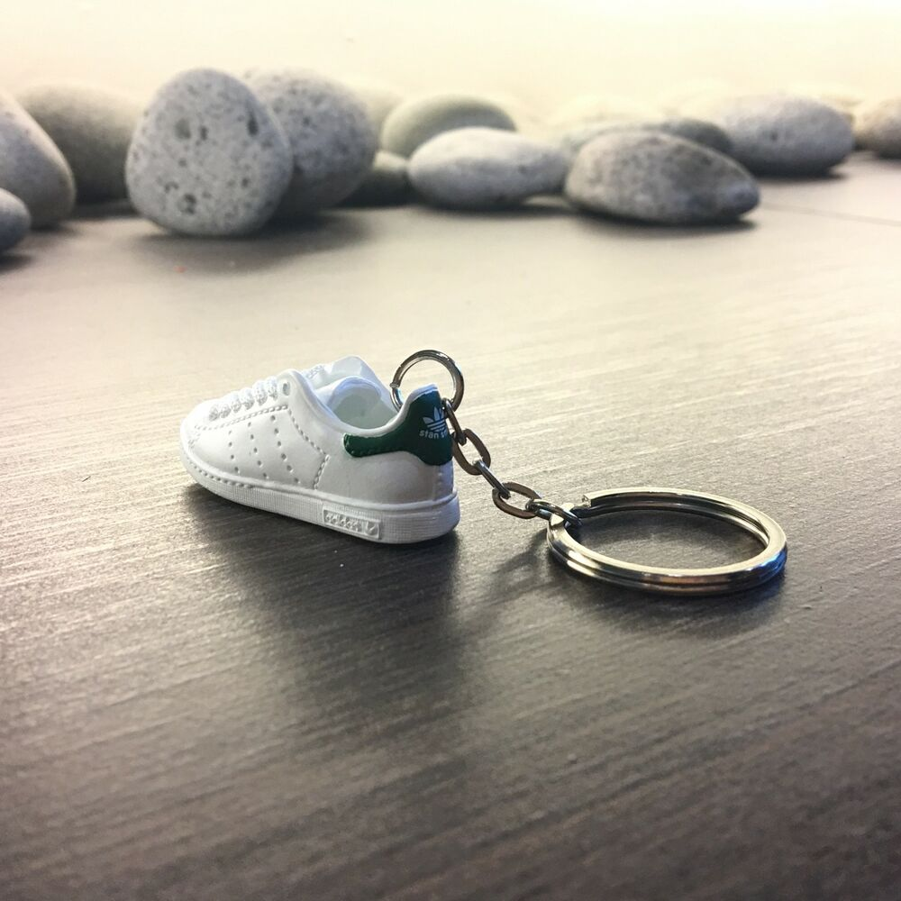 4d560472e91 madxo 3D mini sneaker keychain Stan Smith OG w green 1 6 real laces adidas  44-01