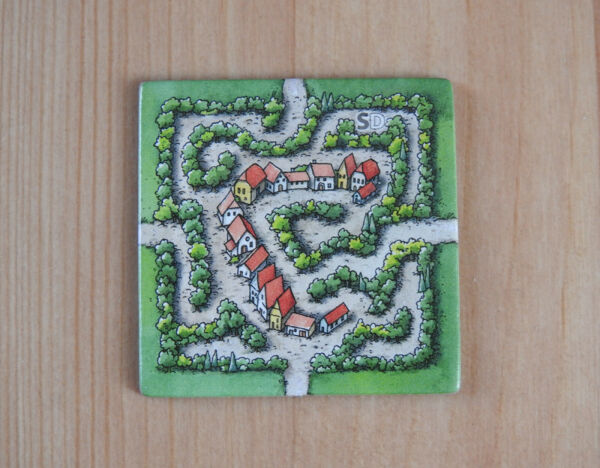Carcassonne Mini Expansion - Labyrinth (Classic Edition), New with English Rules