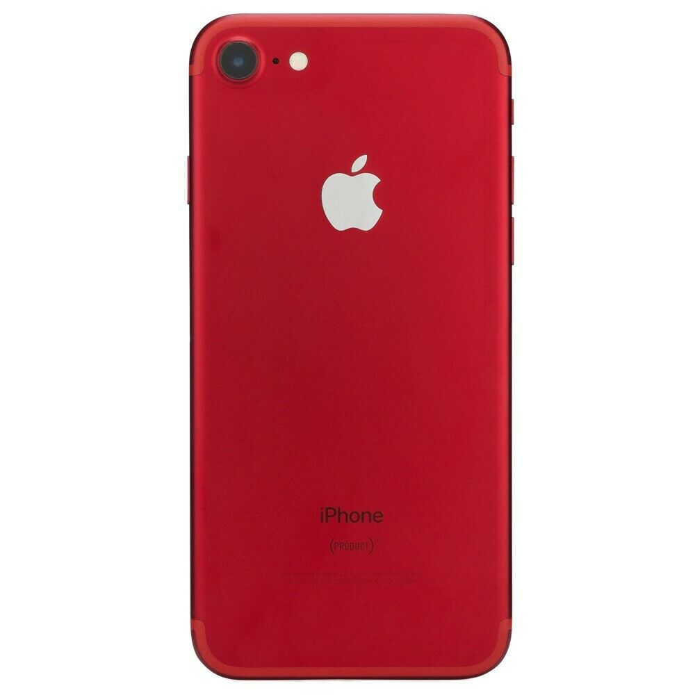 apple iphone 7 red smartphone at t t mobile verizon gsm. Black Bedroom Furniture Sets. Home Design Ideas
