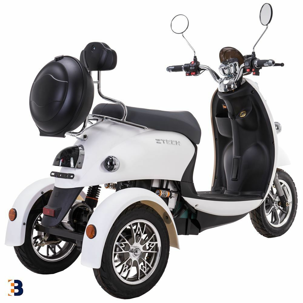3 wheeled retro electric mobility scooter 60v 100ah 500w. Black Bedroom Furniture Sets. Home Design Ideas