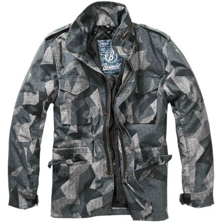 img-Brandit M65 Standard Jacket Military Mens Coat Tactical Parka Night Camo Digital