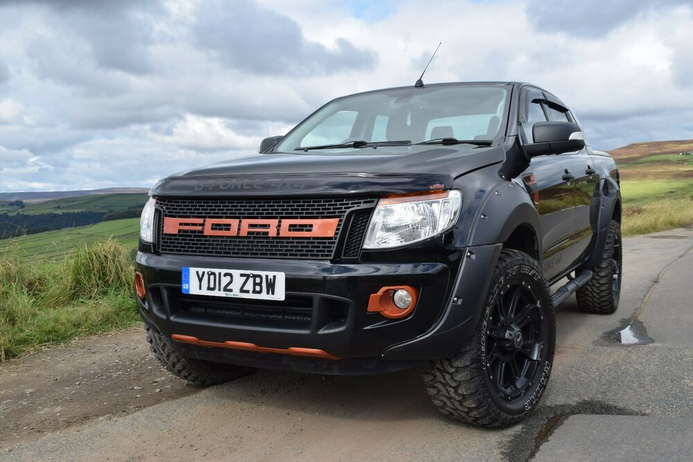 ford ranger full raptor style kit wheels tyres body kit. Black Bedroom Furniture Sets. Home Design Ideas