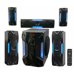Kyпить Rockville HTS56 1000w 5.1 Channel Home Theater System/Bluetooth/USB+8