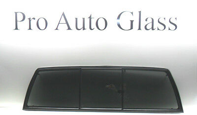 Rear Back Sliding Glass Window Privacy Tinted for a 1998-2004 NISSAN FRONTIER