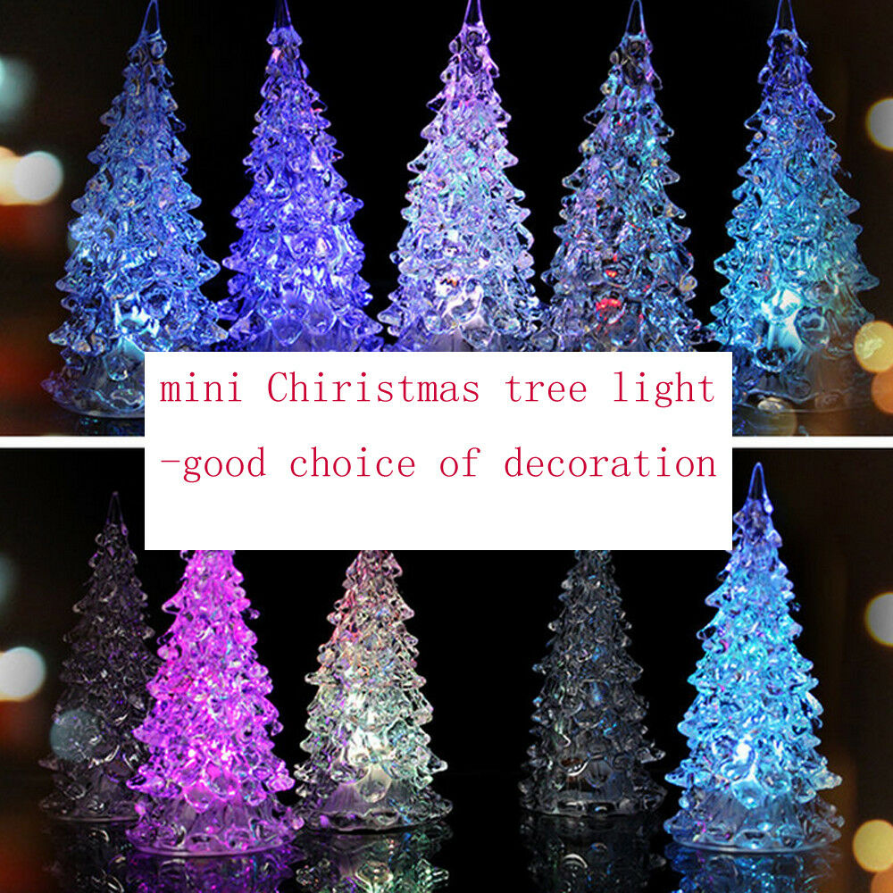 light up acrylic christmas tree ornaments twinkling led. Black Bedroom Furniture Sets. Home Design Ideas