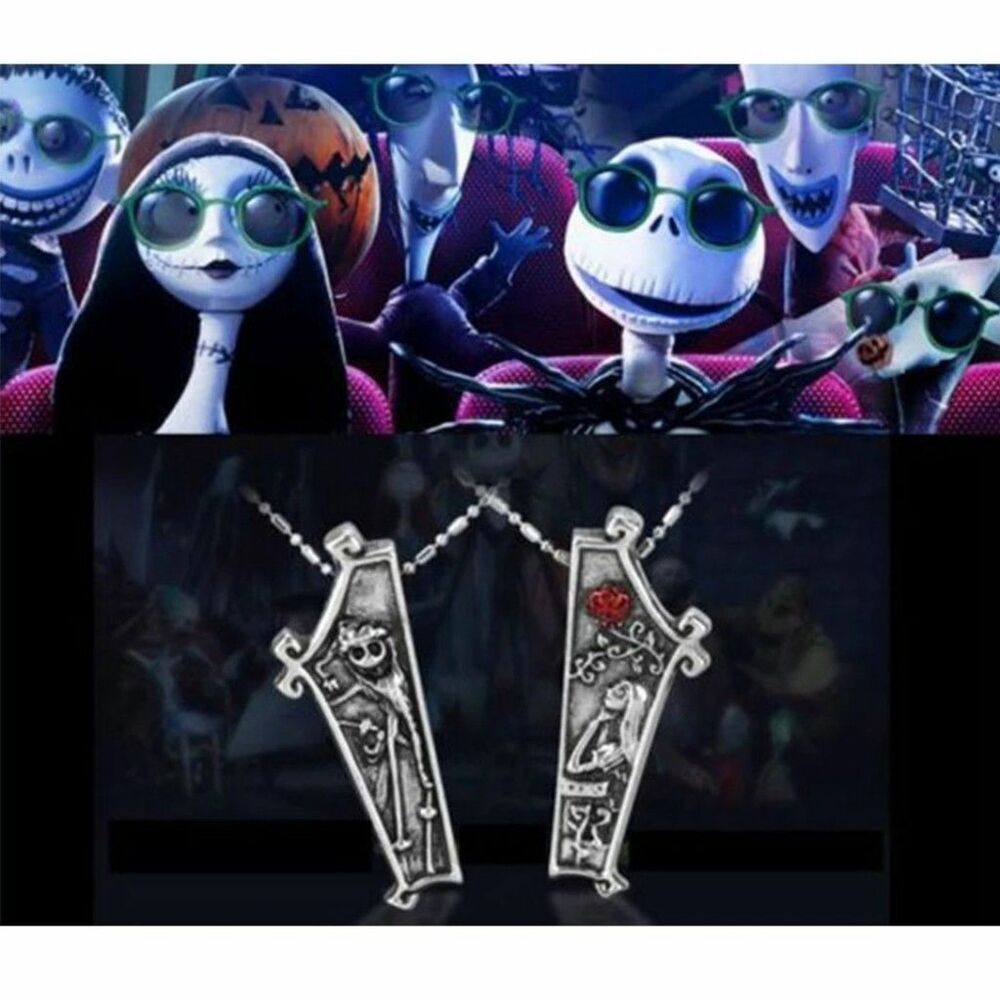 The Nightmare Before Christmas Jack Skellington Sally 2 Pc