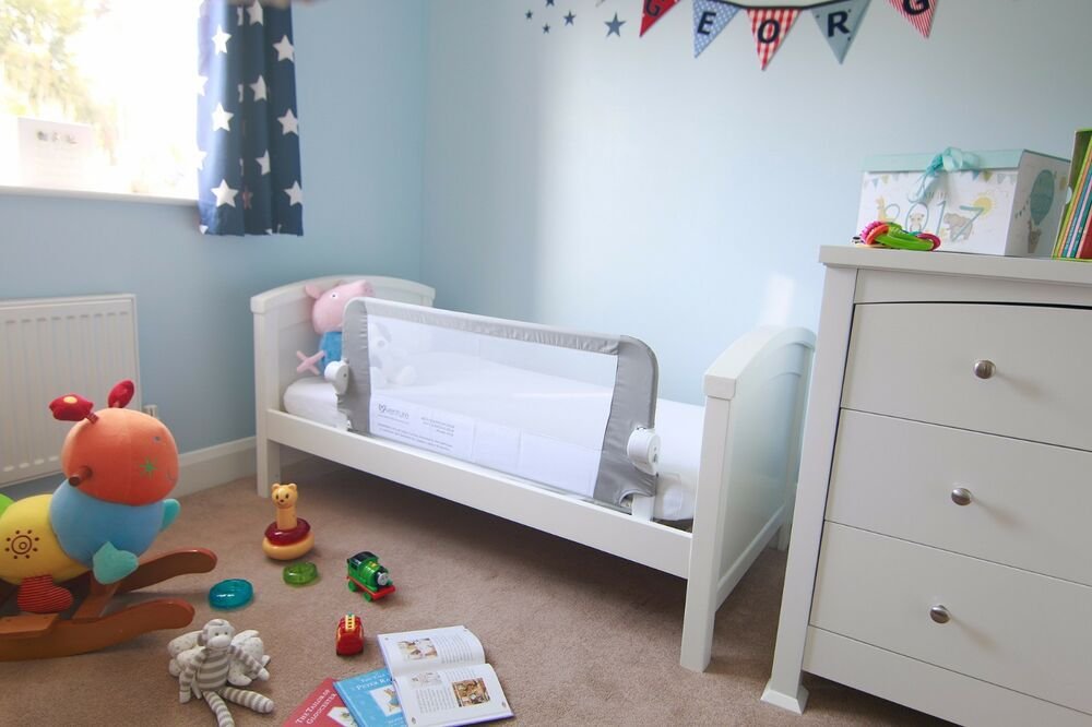 Venture QFix Bed Guard Toddlers Rail Safety Sleep 634158678806