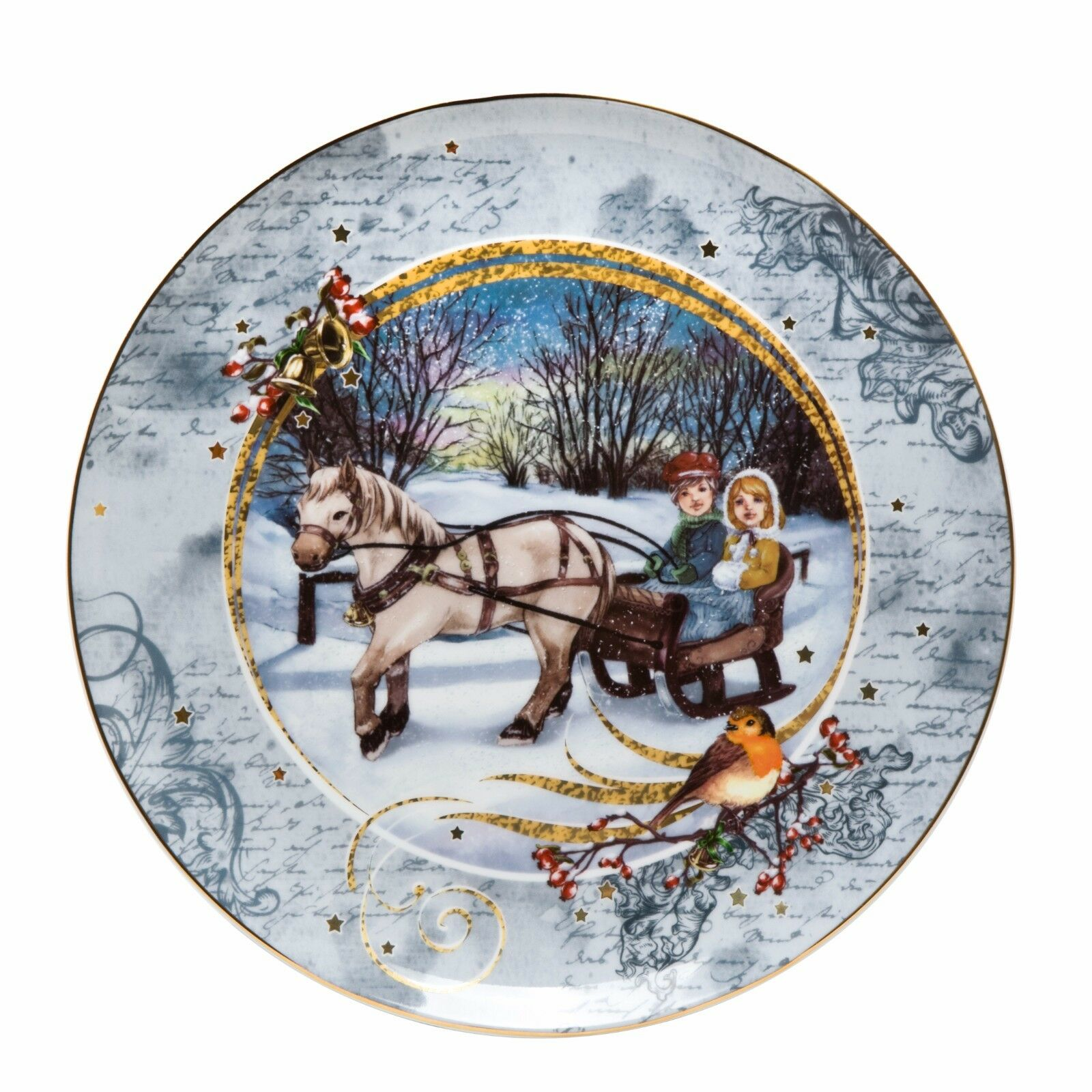 "Advent Platter/""  66873969 Assiette de Noël GOEBEL WEIHNACHT /""Adventsteller"