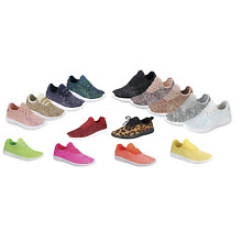 850d7b48e426b5 New Baby Toddler Girls Glitter Lace Up Fashion Shoes Comfort Athletic  Sneakers