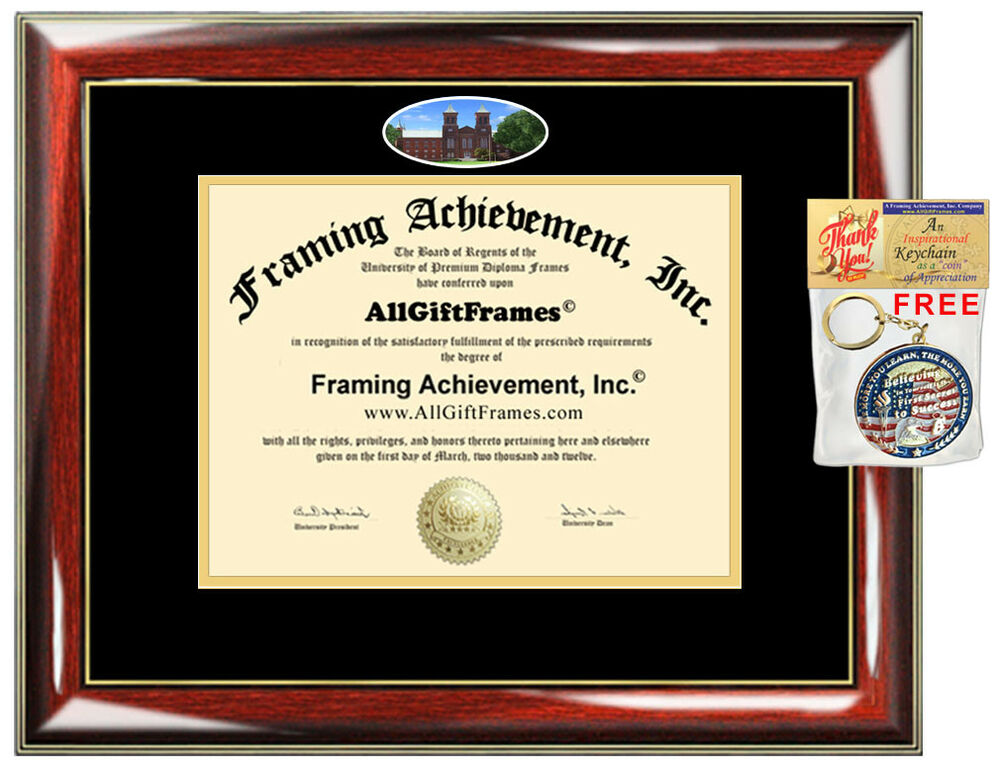 Antioch College Diploma Frame University Degree Framing Campus Photo ...