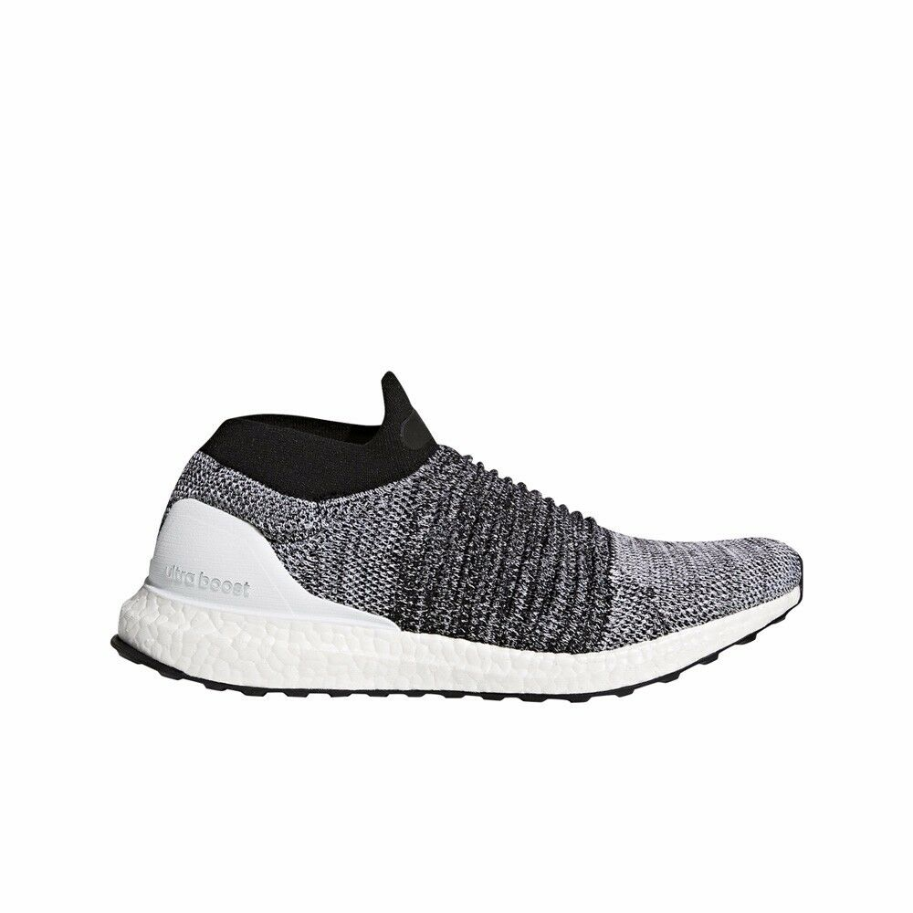 6f8bbcfddf10f Details about Adidas UltraBOOST Laceless (Running White Core Black) Men s  Shoes BB6141