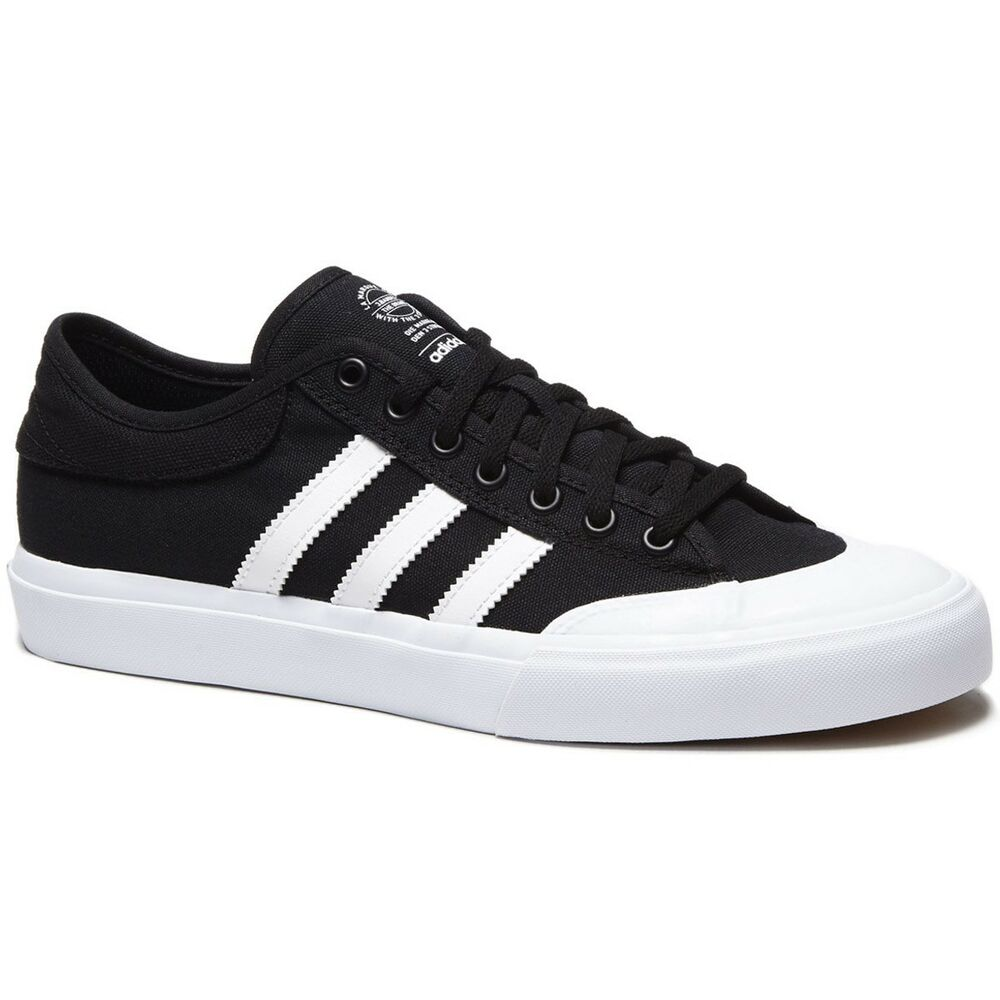 reputable site 788f5 ddad5 Details about Adidas Skateboarding MATCHCOURT Shoes Black Men s SIZE 12 New