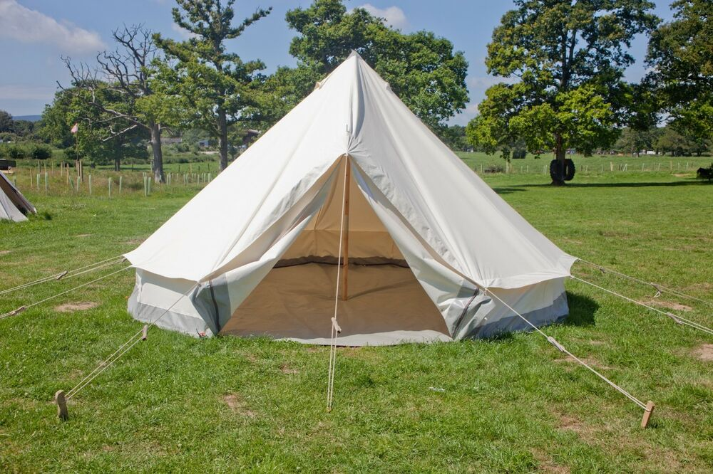 & British Canvas Bell Tent from BCT outdoors   eBay