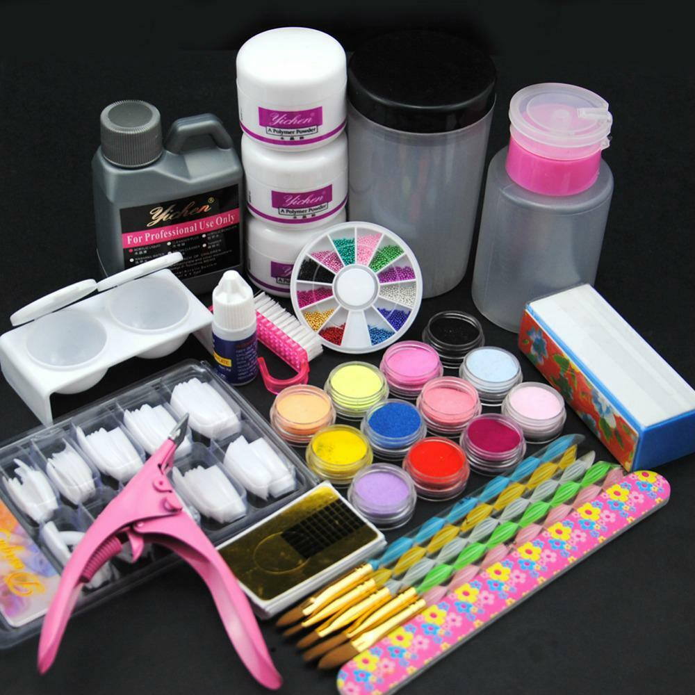 Nail Art Salon Tools Sets Pedicure Manicure Equipment Nails Care ...