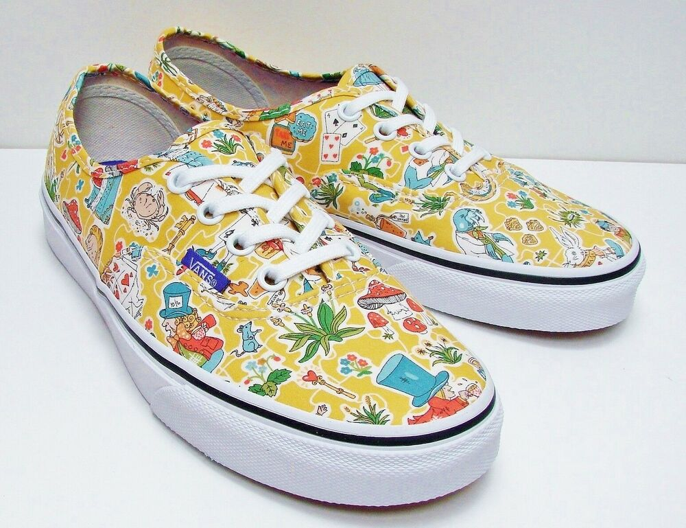 72701e3a64 VANS Authentic (Liberty Wonderland) True White VN-0ZUKFHI Women s Size  7