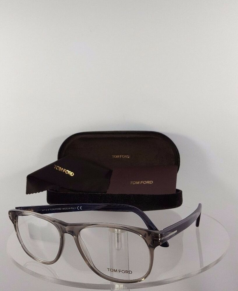 f8a27215e6ccd Details about Brand New Authentic Tom Ford Eyeglasses TF FT 5362 020 Blue  Grey Frame 5362 53mm