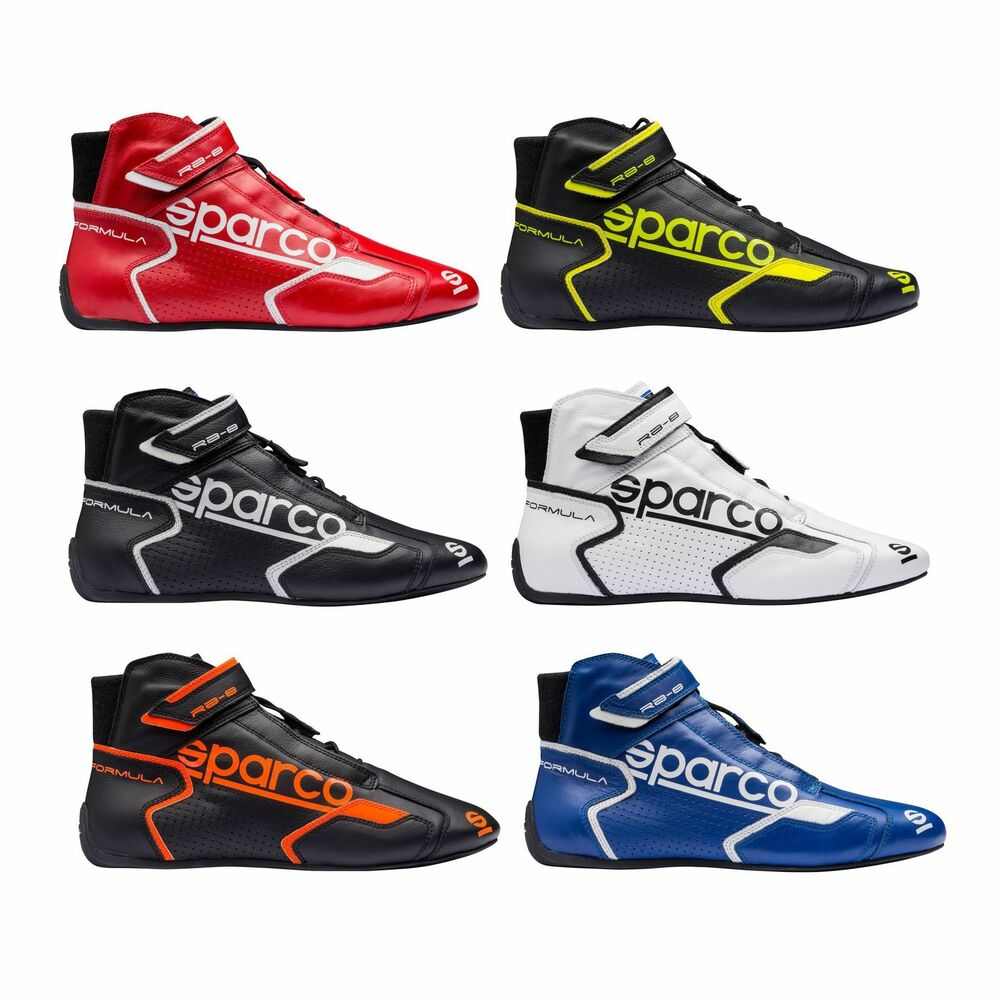 Sparco Motorsport Formula RB-8.1 FIA Approved Leather Race Boots  b2156abea21