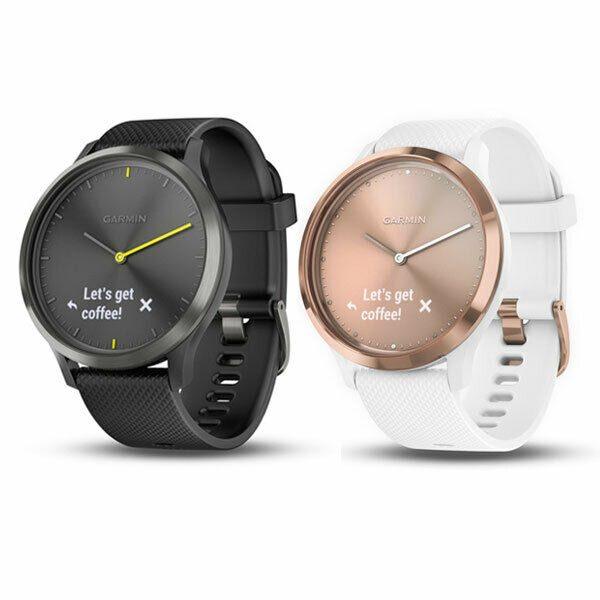 garmin vivomove sport hr fitnesstracker uhr herzfrequenz. Black Bedroom Furniture Sets. Home Design Ideas