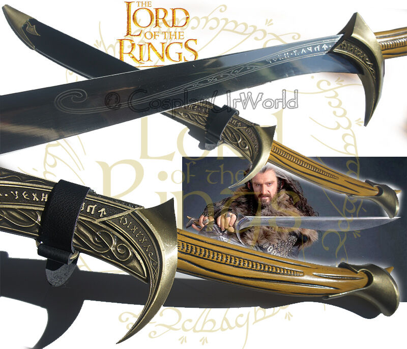 LOTR Lord Of Rings Hobbit Orcrist Blade Sword Of Thorin