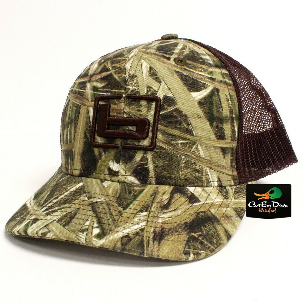 85b7dcc20bc Details about NEW BANDED GEAR TRUCKER CAP HAT SHADOW GRASS BLADES CAMO TAN  MESH W