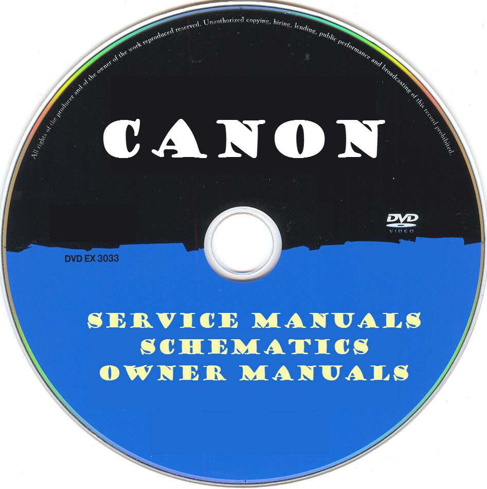 Canon Printer Copier Fax MFC SERVICE MANUALS- PDFs on DVD - Huge Collection  | eBay